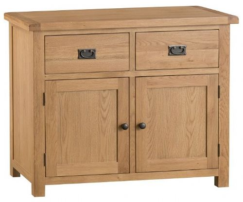Chelmsford Oak 2 Door 2 Drawer Sideboard